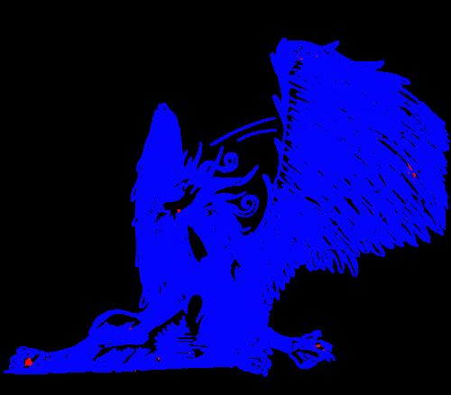 GRYPHON - azul